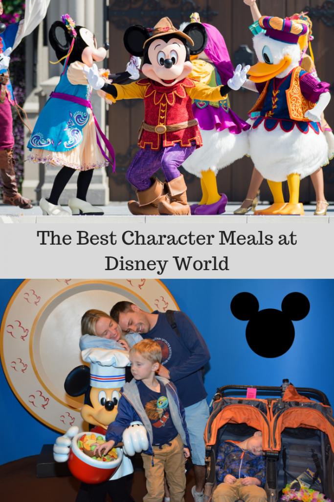 Character Meals-Pin