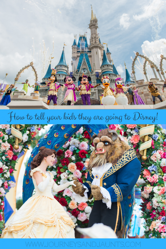 How to tell your kids they are going to Disney- Pin