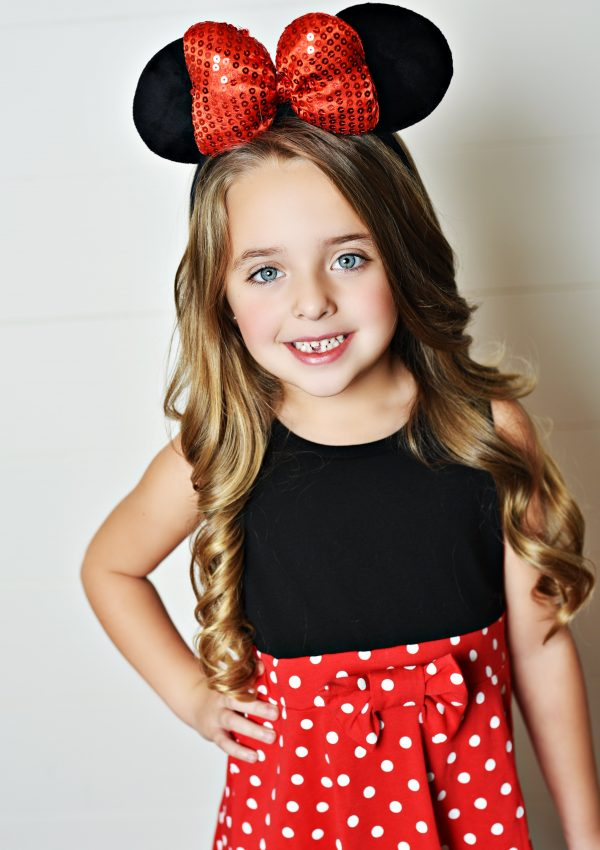 Minnie Mouse Dress from Presley Couture