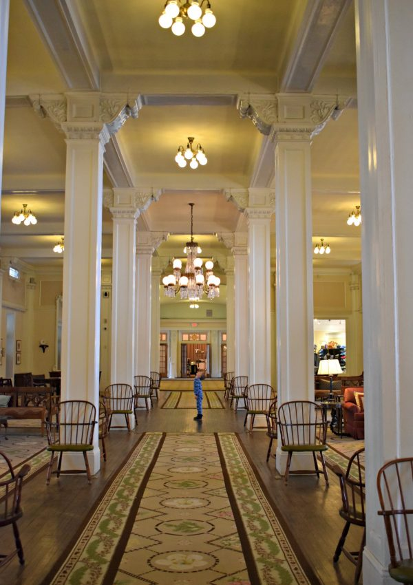 The Great Hall of the Omni Mount Washington Resort