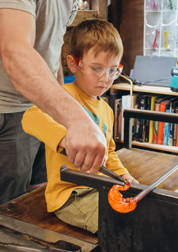 Glass blowing Classes at Salt & Sand Studios