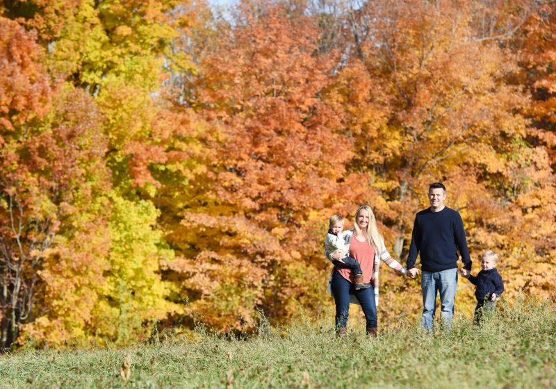 Holyoak Family in the fall