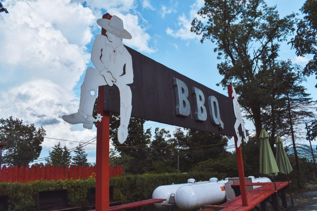 BBQ at Pine Ridge Dude Ranch