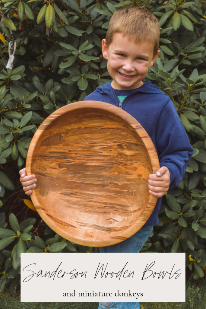 Sanderson Wooden Bowls- PIN