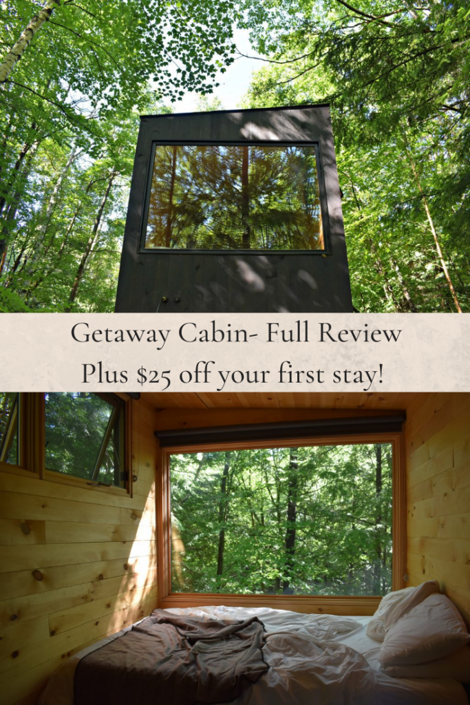 Getaway Cabins with my Dog- the best way to disconnect- PIN