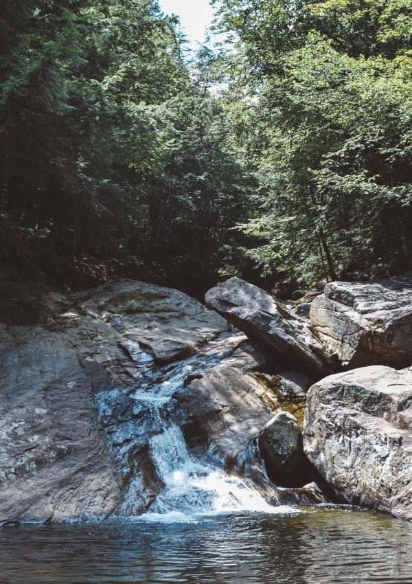 Pikes Falls in Vermont & a perfect swimming hole