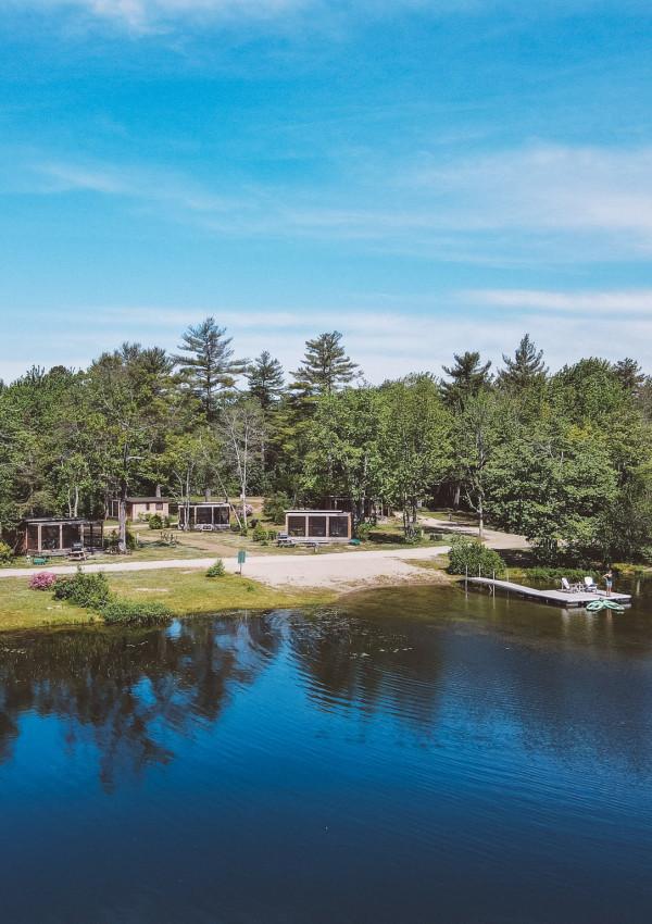 Huttopia Maine